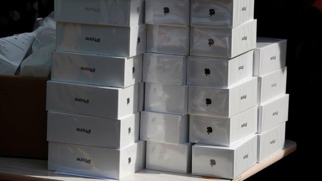 iPhones lassen bei Apple die Kasse klingeln.
