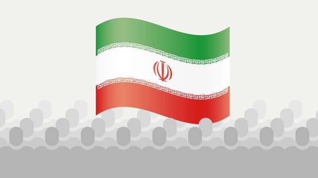 Infografik Iran