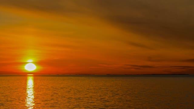 Sonnenaufgang Norwegen