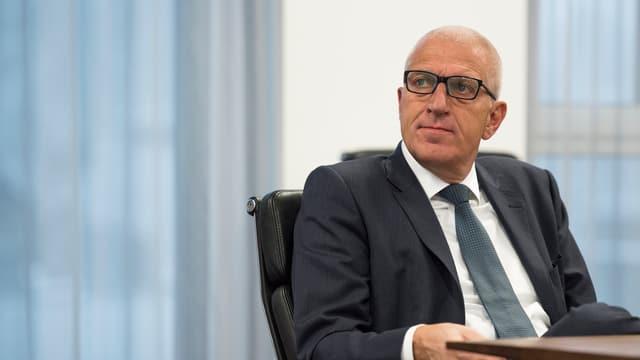 Pierin Vincenz resta fin il matg president dal cussegl d'administraziun da la Repower.