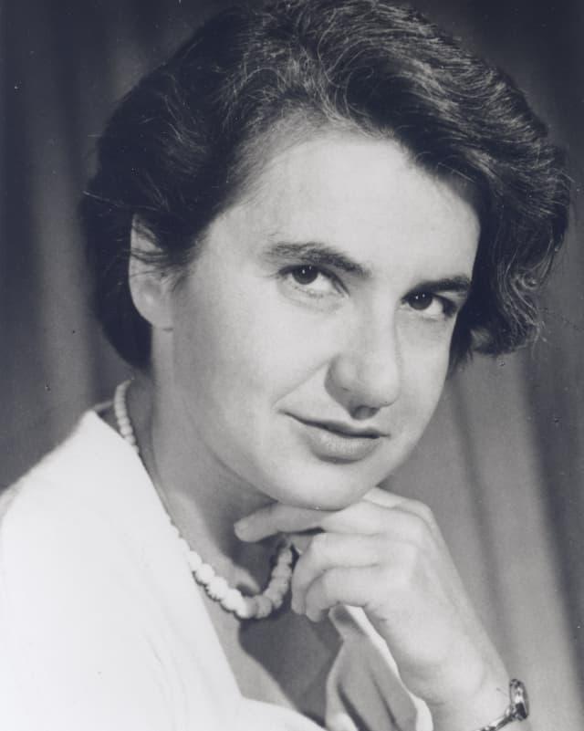 Porträt von Rosalind Franklin