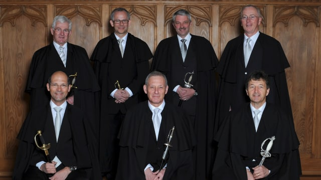 Gruppenbild der Appenzeller Regierung