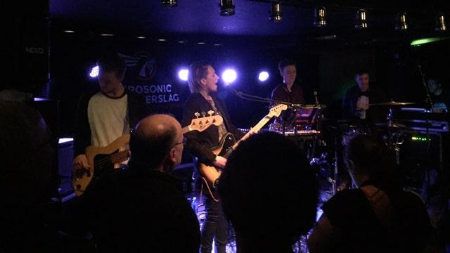 Vök live am Eurosonic Noorderslag Festival 2015 in Groningen.