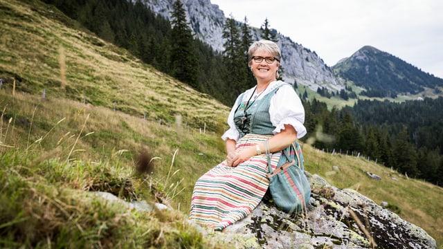 Video «Irene Schmid aus Flühli LU» abspielen