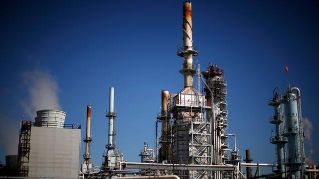 Öl-Raffinerie in Kalifornien