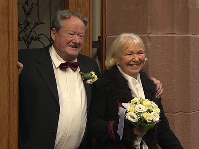 Peter Gubler und Iris Galey