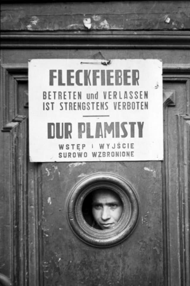 """Schild """"Fleckfieber. Betreten und Verlassen ist strengstens verboten"""