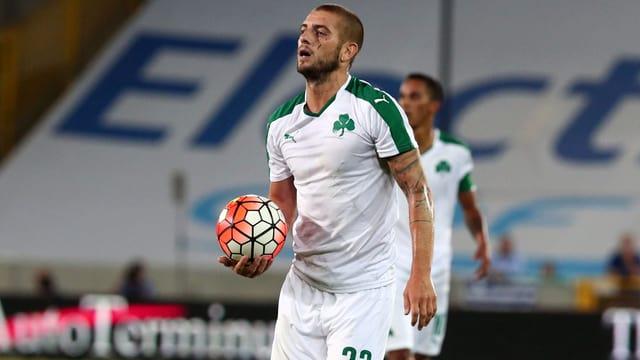 Panathinaikos-Spieler Mladen Petric.