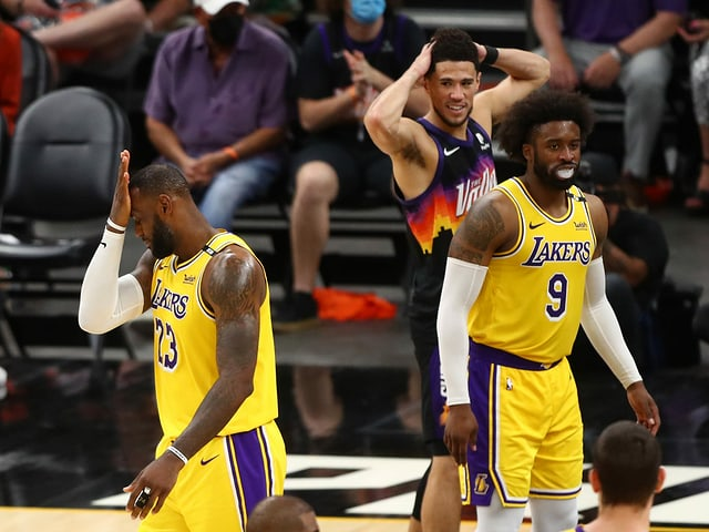 LeBron James ärgert sich
