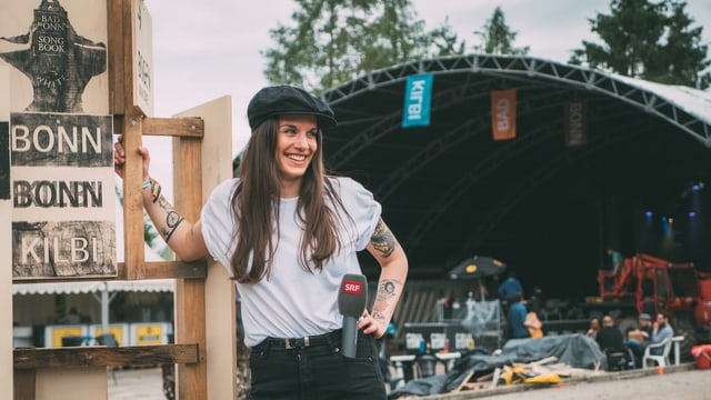 Bettina Bestgen an Festival