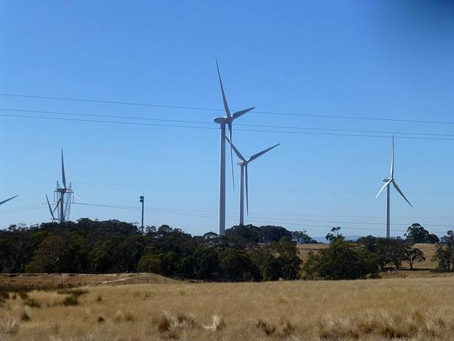 Windfarm in Australien.