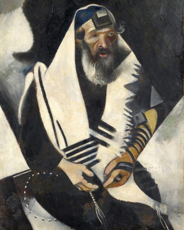 «Der Jude in Schwarz-Weiss» (1914).