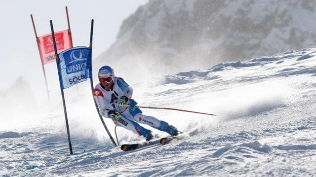 Didier Défago fuhr beim Saisonstart in Sölden auf den starken 5. Rang.