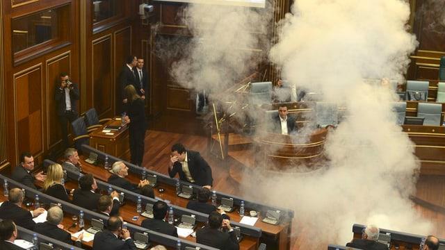 Il parlament dal Cosovo.