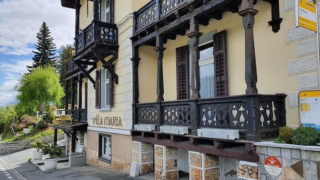 L'hotel Villa Maria a Vulpera
