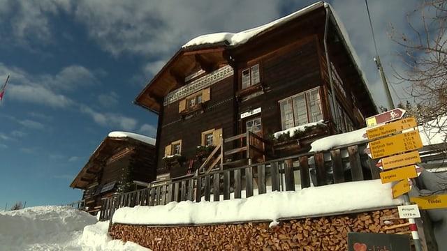 Video «Berggasthaus Pirigen in Langwies (GR) - Tag 5» abspielen