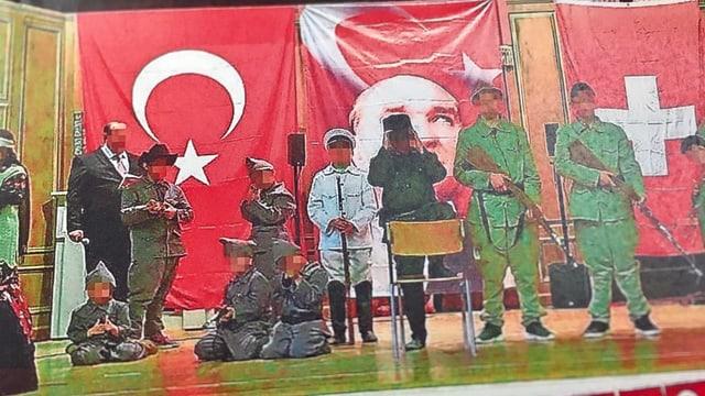 Ausländische Staatspropaganda in der Schule? Auslöser war ein türkisches Schultheater in Uttwil/TG.