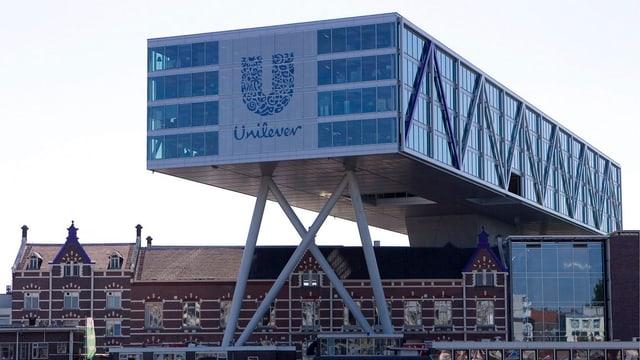 Unilever-Standort in Rotterdam