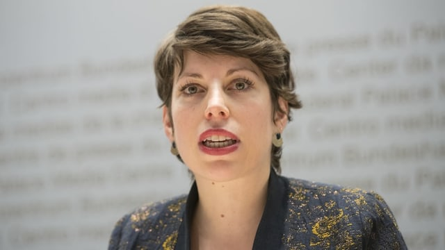 Die Grünen-Nationalrätin Lisa Mazzone