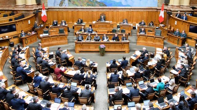 Sessiun da primavaira 2018: L'emprima sessiun dal parlament federal è fatga.