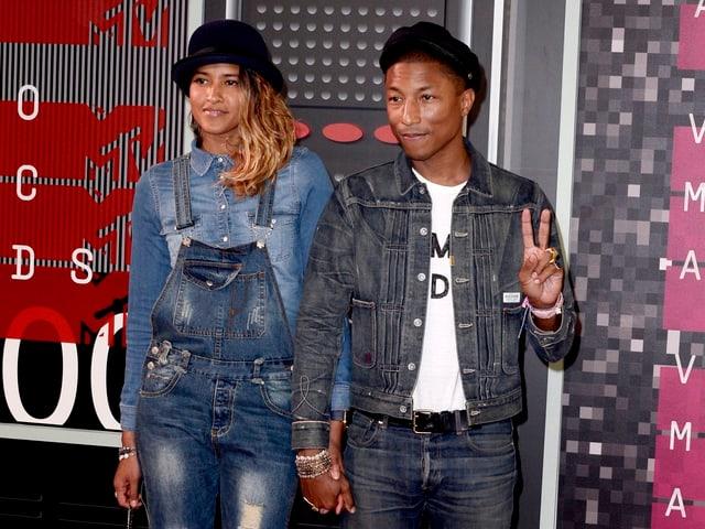 Pharrell Williams und seine Frau