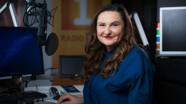Gastgeberin Heidi Ungerer ist Redaktionsleiterin von Radio SRF 1.
