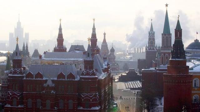 Blick auf den Kreml in Moskau.
