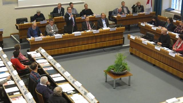 Synode im Landratssaal