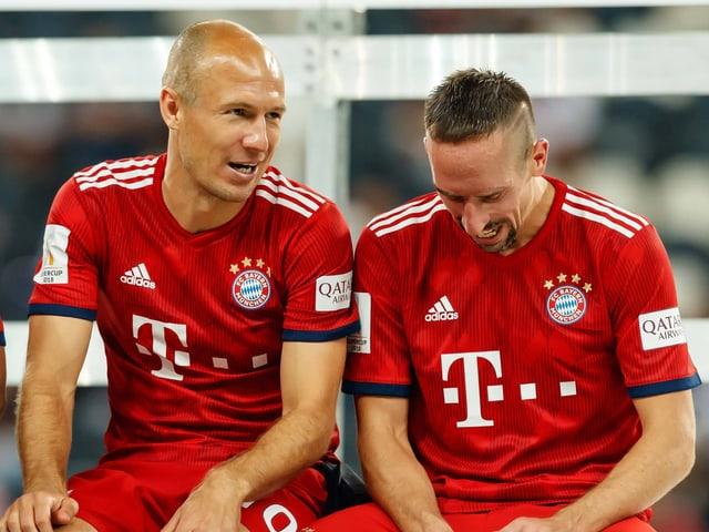Arjen Robben und Frank Ribéry haben das Bayern-Spiel über viele Jahre geprägt.