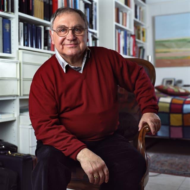 Jörg Schneider sitzend