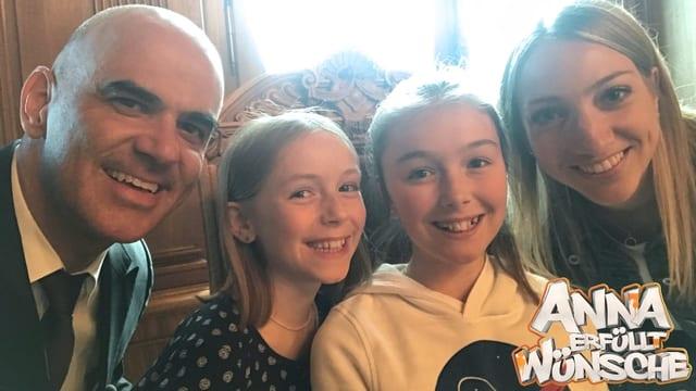 «Anna erfüllt Wünsche» aus dem Bundeshaus (Artikel enthält Video)