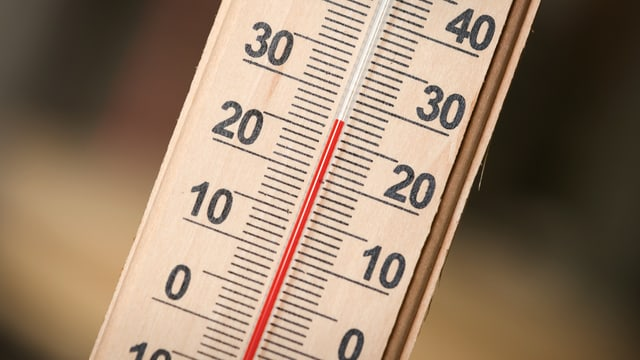 Fotografie Thermometer