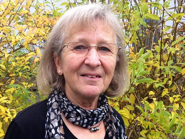 Porträt von Lotti Stöckli.