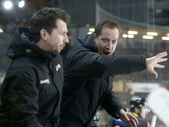 Lars Leuenberger und Antti Törmänen