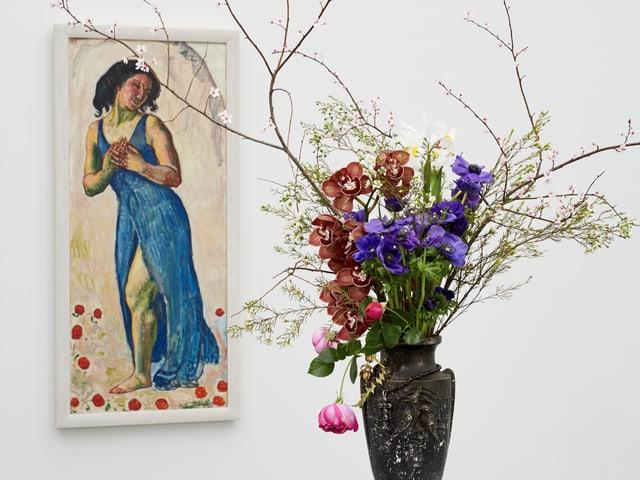 Blumen und Bild