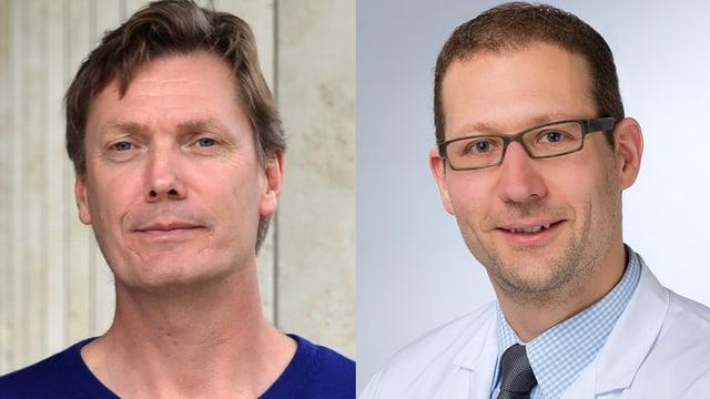 Portraitfoto der beiden Chat-Experten