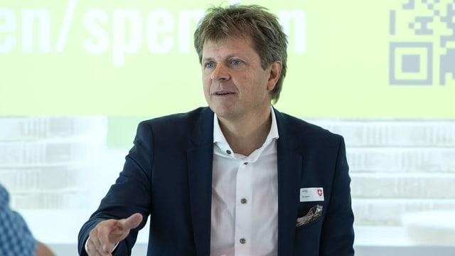 GLP-Präsident Jürg Grossen.