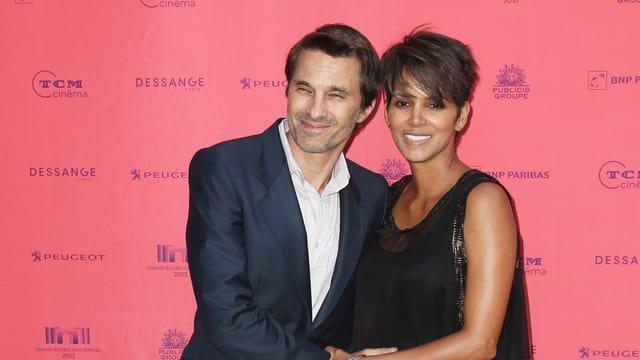 Schwangere Hochzeit: Halle Berry heiratete im Sommer ihren Partner Olivier Martinez.
