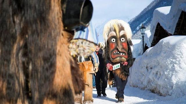 Neben Folklore wie der «Tschäggättä» sollen auch Walliser Kulturschaffende den Tourismus ankurbeln.