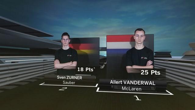 Screenshot Halbfinal