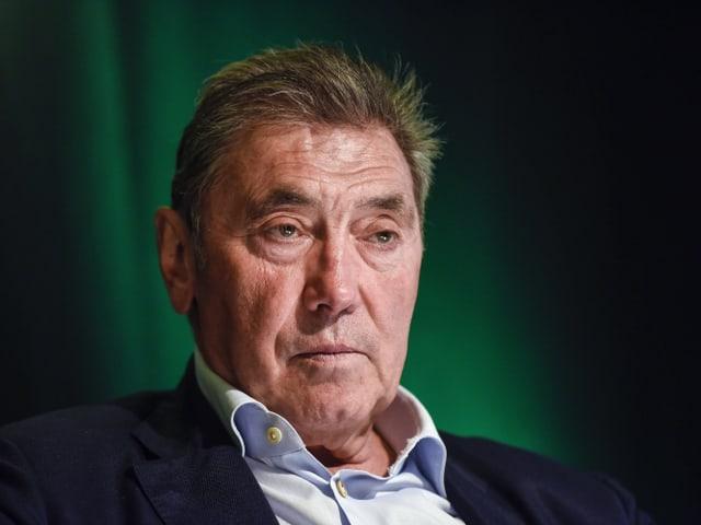 Der 74-jährige Eddy Merckx.