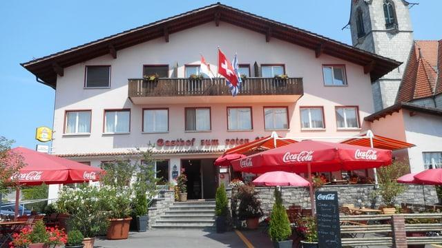 Video «Kanton Luzern – Tag 4 – Gasthof zum Roten Löwen, Hildisrieden» abspielen