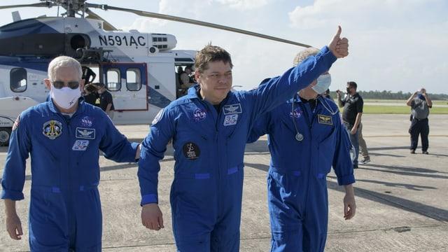 Astronaut Robert Behnken.