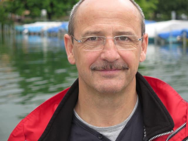 Porträt Hermann Rusch.