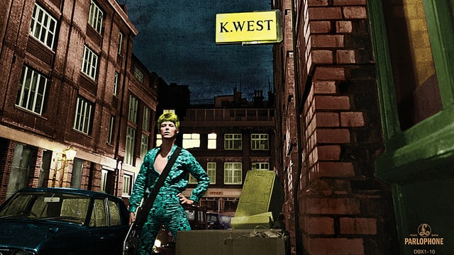 Cover von The Rise and Fall of Ziggy Stardust and the Spiders from Mars