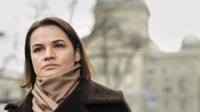 Tichanowskaja trifft Schweizer Parlamentarier