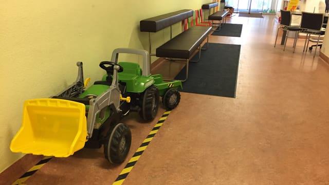 Notfallstation am Ostschweizer Kinderspital St. Gallen.