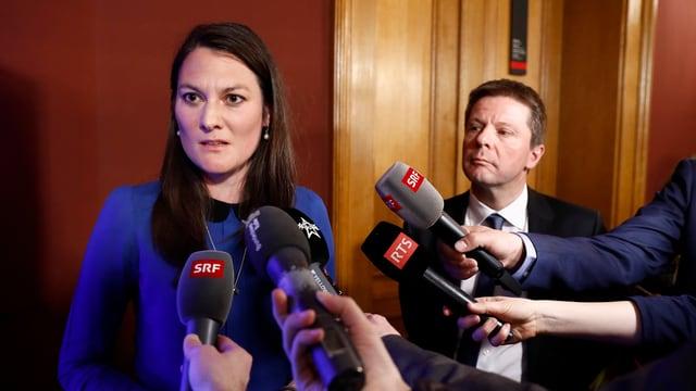 Tiana Angelina Moser la scheffa da fracziun dals Verdliberals.