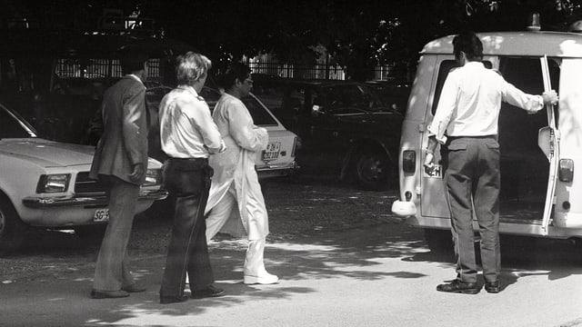 Verhaftung von Swami Omkarananda
