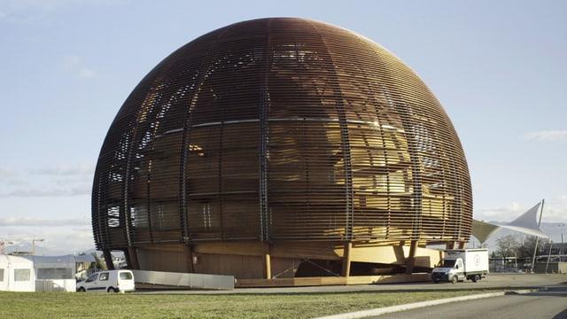 Gebäude am CERN.